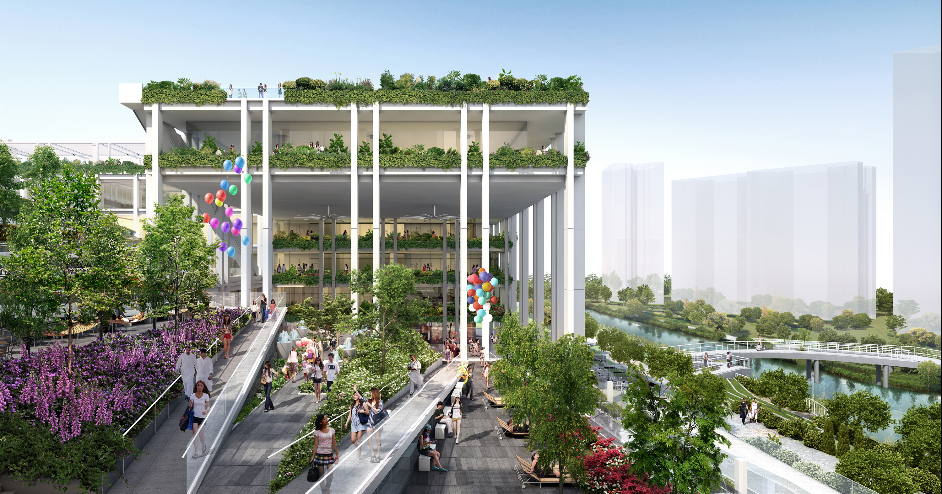 Oasis Terraces – Punggol Neighbourhood Centre and ... Oasis Masterplan