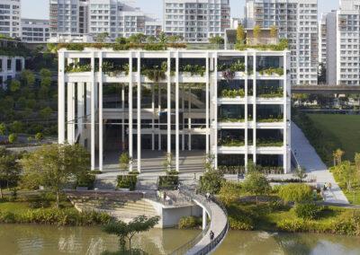 Oasis Terraces – Punggol Neighbourhood Centre and Polyclinic
